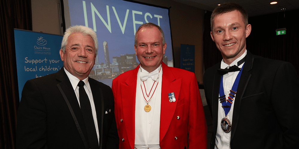 Toastmaster at CISI Dinner Liverpool